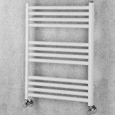 S4H Winsford Ladder Towel Rail 1374mm H x 500mm W - White