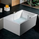 Synergy Berg Duo Rectangular Double Ended Bath 1800mm x 1200mm - 0 Tap Hole