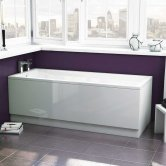 Synergy Granada Berg Solo Standard Single Ended Bath 1700mm x 700mm - 0 Tap Hole