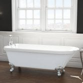 Synergy Cambridge Single Ended Freestanding Bath 1470mm x 735mm - 0 Tap Hole