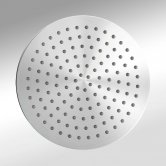 Synergy Round Fixed Shower Head 370mm Diameter - Silver