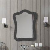 Synergy Paris Bathroom Mirror 750mm H x 600mm W - Gloss Black
