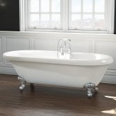 Synergy Wilmslow Double Ended Freestanding Bath 1795mm x 785mm - 0 Tap Hole