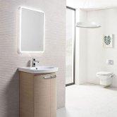 Tavistock Aster LED Illuminated Bathroom Mirror 500mm W x 700mm H
