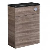 Tavistock Courier Back to Wall WC Toilet Unit 600mm Wide Havana Oak