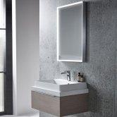 Tavistock Pitch Bathroom Mirror 700mm H x 500mm W LED Illuminated