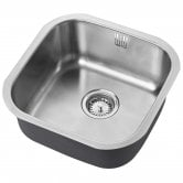 The 1810 Company Etrouno 400U 1.0 Bowl Kitchen Sink - Stainless Steel