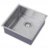 The 1810 Company Zenuno15 400U 1.0 Bowl Kitchen Sink - Stainless Steel