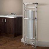 TRC Chalfont Heated Towel Rail 1500mm H x 500mm W Chrome