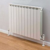 TRC Mix Radiator 390mm High x 900mm Wide, 11 Sections, White