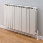 TRC Mix Radiator 390mm High x 1060mm Wide, 13 Sections, White