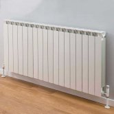 TRC Mix Radiator 390mm High x 1460mm Wide, 18 Sections, White