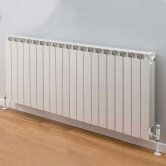 TRC Mix Radiator 390mm High x 1620mm Wide, 20 Sections, White