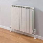 TRC Mix Radiator 390mm High x 740mm Wide, 9 Sections, White