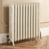 TRC Trieste 2 Column Radiator 661mm High x 860mm Wide - 11 Sections - Primer