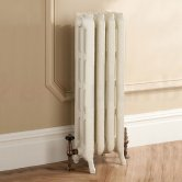 TRC Trieste 2 Column Radiator 760mm High x 328mm Wide - 4 Sections - Primer