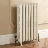 TRC Trieste 2 Column Radiator 661mm High x 556mm Wide - 7 Sections - Primer