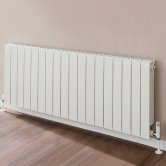 TRC VIP Radiator 440mm High x 1460mm Wide, 18 Sections, White