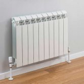 TRC Vox Radiator 440mm High x 820mm Wide, 10 Sections, White