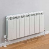 TRC Vox Radiator 440mm High x 1140mm Wide, 14 Sections, White