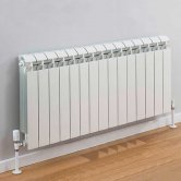 TRC Vox Radiator 440mm High x 1220mm Wide, 15 Sections, White
