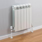 TRC Vox Radiator 440mm High x 500mm Wide, 6 Sections, White