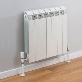 TRC Vox Radiator 440mm High x 580mm Wide, 7 Sections, White