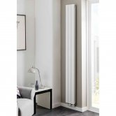 TRC Water Lily Double Radiator 2020mm High x 160mm Wide - White