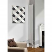 TRC Water Lily Single Radiator 2020mm High x 160mm Wide - White