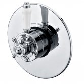 Trisen Formby Thermostatic Concealed Shower Valve Dual Handle - Chrome