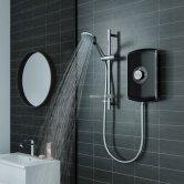 Triton Amore Electric Shower 8.5kw - Gloss Black
