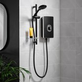 Triton Aspirante Enhance Electric Shower 8.5kw - Matt Black