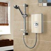 Triton Aspirante Electric Shower 8.5 kW - Riviera Sand