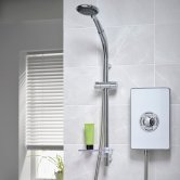 Triton Aspirante Enhance Electric Shower 9.5kw - White
