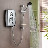Triton T80Z Fast-Fit Electric Shower Chrome 9.5 kW