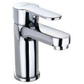 Twyford X50 Basin Mono Mixer Tap with Click Clack Waste - Chrome