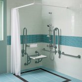 Twyford Doc M Disability Shower Pack - Grey