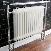 Ultraheat Buckingham Radiator Heated Towel Rail 951mm H x 534mm W - Chrome
