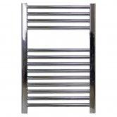Ultraheat Chelmsford Straight Heated Towel Rail 764mm H x 500mm W - Chrome
