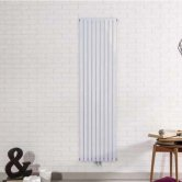 Ultraheat Linear Single Designer Vertical Radiator 1800mm H x 480mm W - White