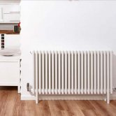 Ultraheat Tubular 3 Column Radiator 600mm H x 288mm W 6 Sections - White