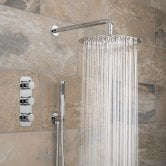 Vado Tablet Altitude Thermostatic Triple Concealed Mixer Shower with Shower Kit + Fixed Head