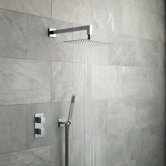 Vado Tablet Notion Thermostatic Dual Concealed Mixer Shower with Shower Kit + Fixed Head