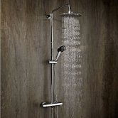 Verona Contour Bar Mixer Shower with Shower Kit + Fixed Head