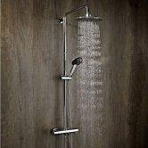 Verona Contour Bar Mixer Shower with Shower Kit + Fixed Head