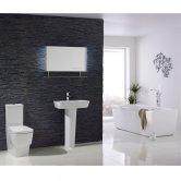 Verona Cubix Modern Complete Bathroom Suite Package