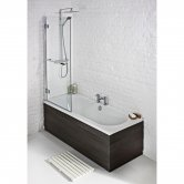 Verona Round Edge Double Ended Bath 1700mm x 700mm - Tungstenite