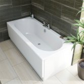 Verona Relax Double Ended Rectangular Bath 1700mm x 700mm 5mm Acrylic