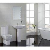Verona Summit Modern Complete Bathroom Suite Package