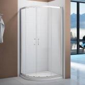 Verona Vivid Quadrant Shower Enclosure 800mm x 800mm - 6mm Clear Glass